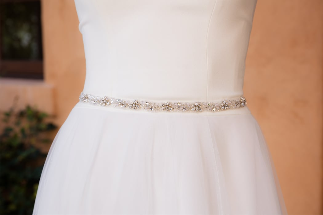Evelyn Bridal - Beaded Belt
